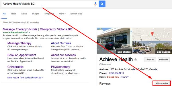Achieve Health Victoria BC